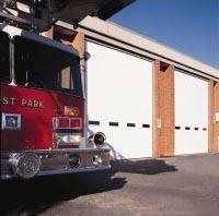 Commercial Garage Door For A Firehouse ...